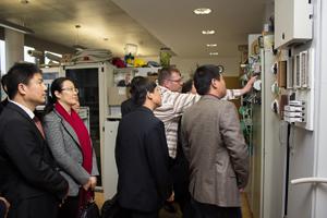 Chinesische Delegation besichtigt Lehrwerkstatt