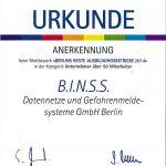 urkunde-beste-ausbildungsbetriebe-berlin-2014