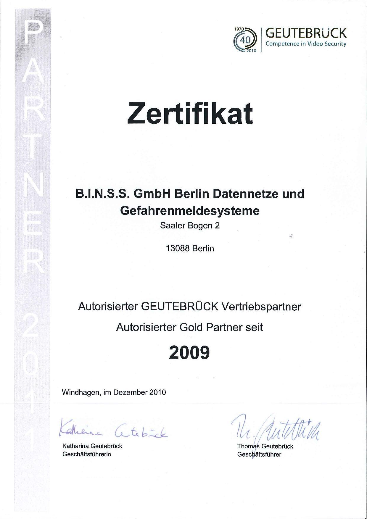 Geutebrück Autorisierter Vertriebspartner