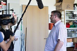 Lehrmeister der BINSS GmbH Jens Reißberger im Interview
