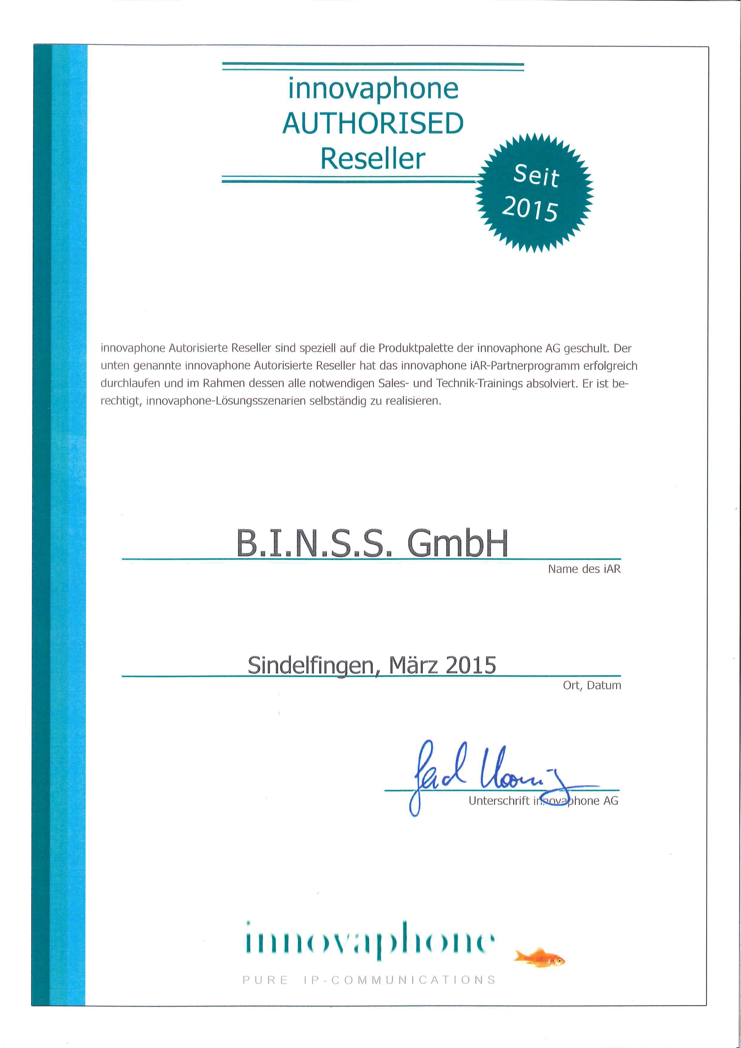 zertifikat-innovaphone-authorised-reseller